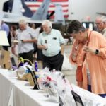 Mobile Arts Council's (MAC's) largest fundraiser of the year, The Throwdown, is held at USS Alabama's Medal of Honor Aircraft Pavilion on Friday, Sept. 20, 2019, in Mobile, Ala. (Mike Kittrell)