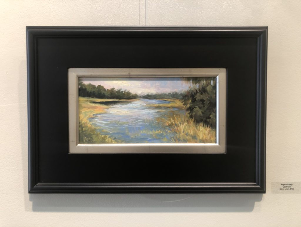 """Bayou Study"" by Cat Pope, Oil"