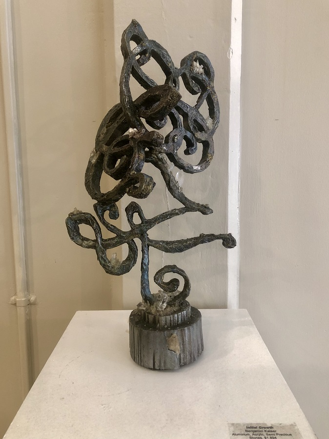 """Initial Growth"" by Ben Kaiser, Sculpture"