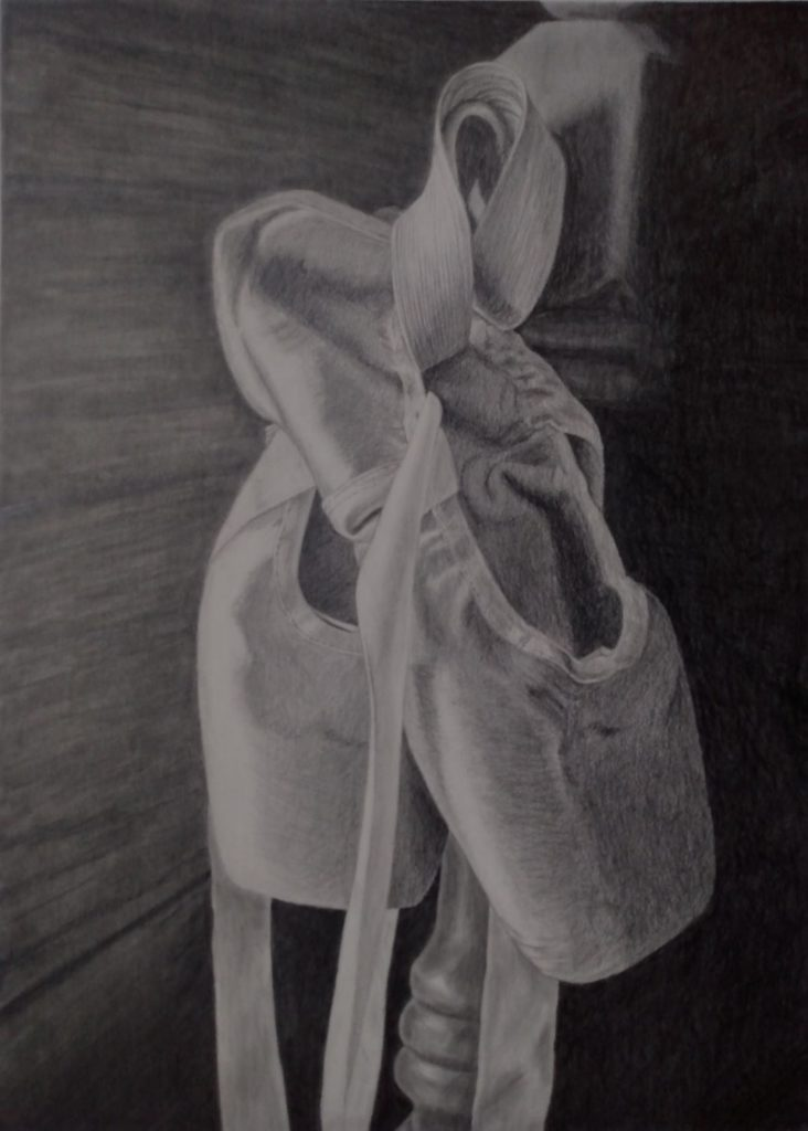 "Karla McMillan, ""Dancer's Contrivance"", Graphite"