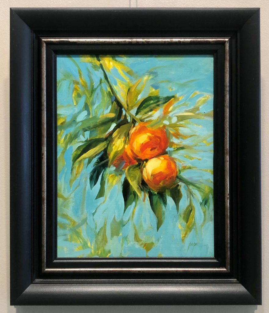 """Satsumas"" by Cat Pope, Oil"