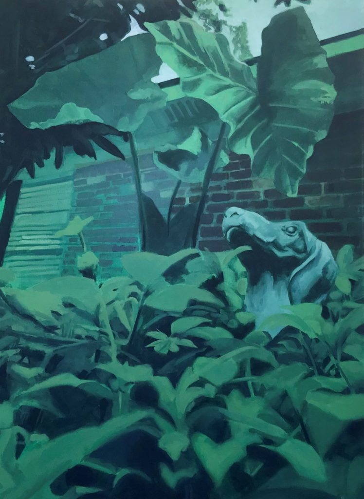 "Samantha Williams, ""Green - Nature"", Oil"