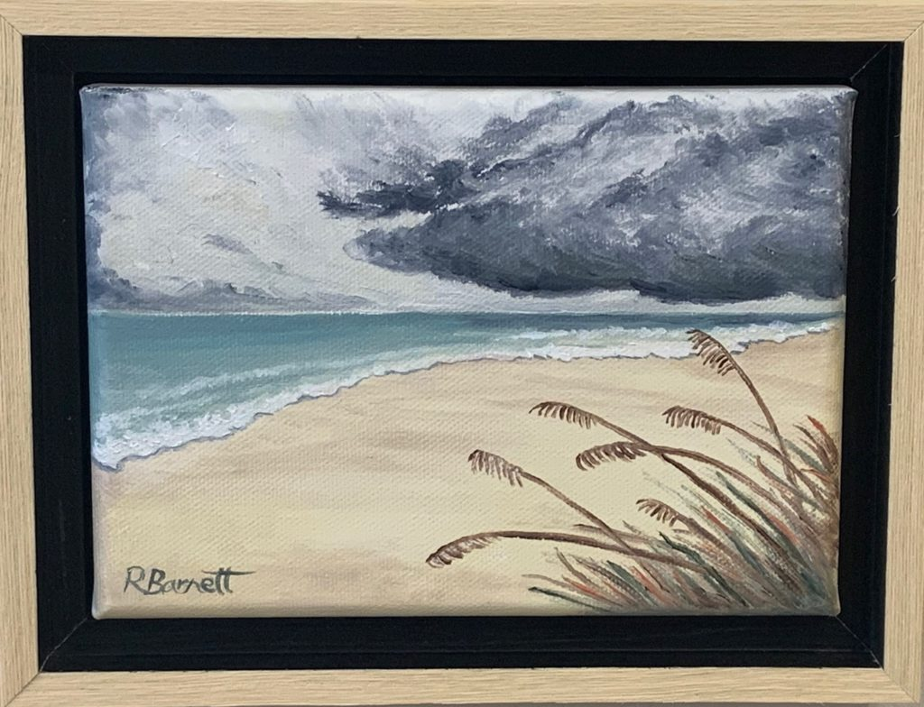 Dauphin Island Solitude, Reagan Barnett, $95.00