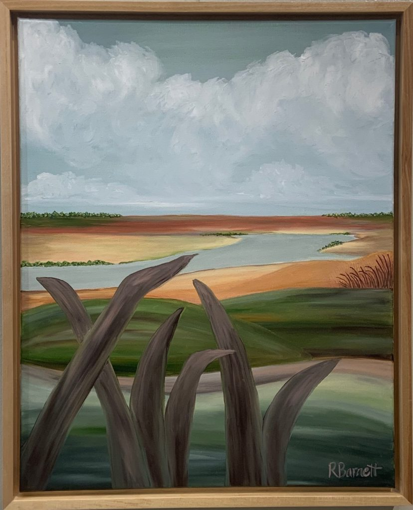 Delta at Dusk, Reagan Barnett, $375.00