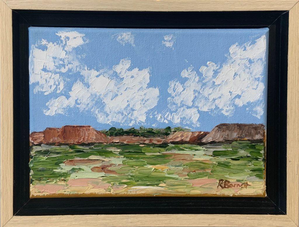 Desert Landscape, Reagan Barnett, NFS
