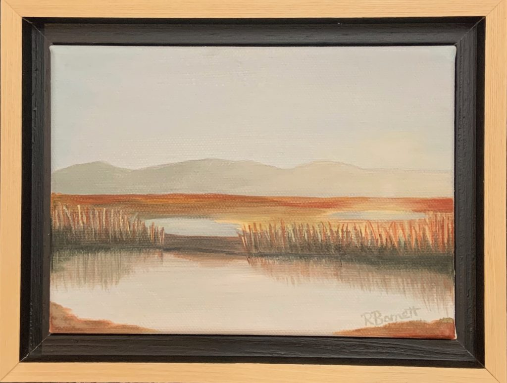 Mountain Mornings, Reagan Barnett, $95.00