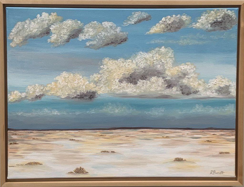 Snowy Desert, Reagan Barnett, $450.00