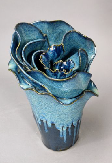 Dark Rose, Dawson Dunn Morgan, Ceramic, $340