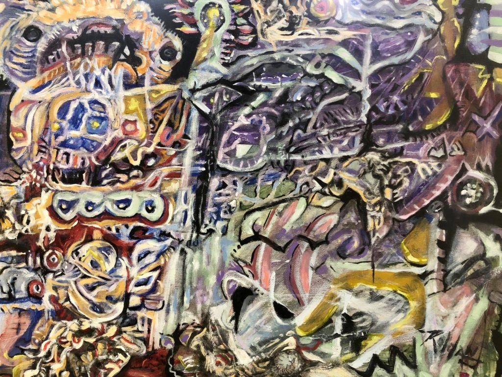 Depression, Jerry Roldan, Acrylic, $275