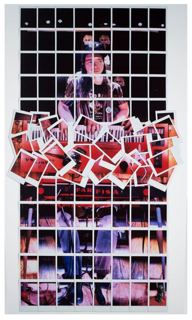 Bub's Farfisa, Micah Mermilliod, Fujifilm Instax Collage, $2,000