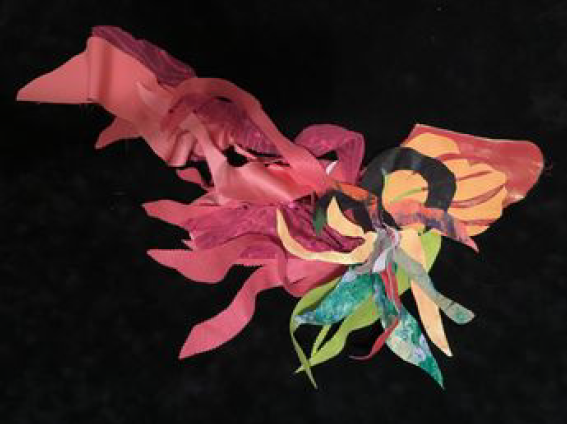 Mobile Blossoms Fall 2020 #1, Monica J. Beasley, Mixed Media, $175