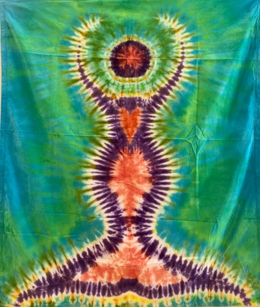 Mermaid, Sherry Peckens, Cotton Sheeting Tapestry, $50