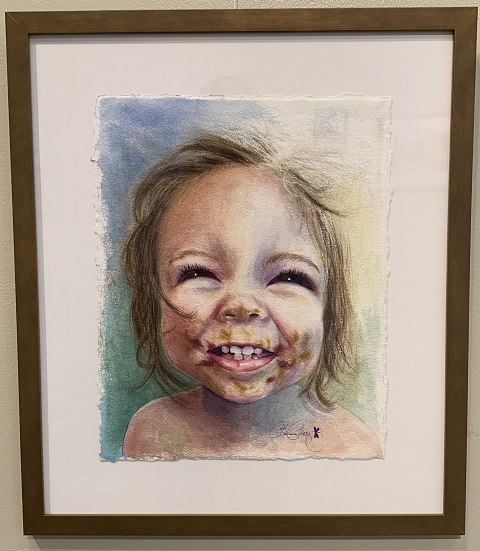 Peanut Butter & Jelly Delight, Barbara Rettig, Watercolor, NFS