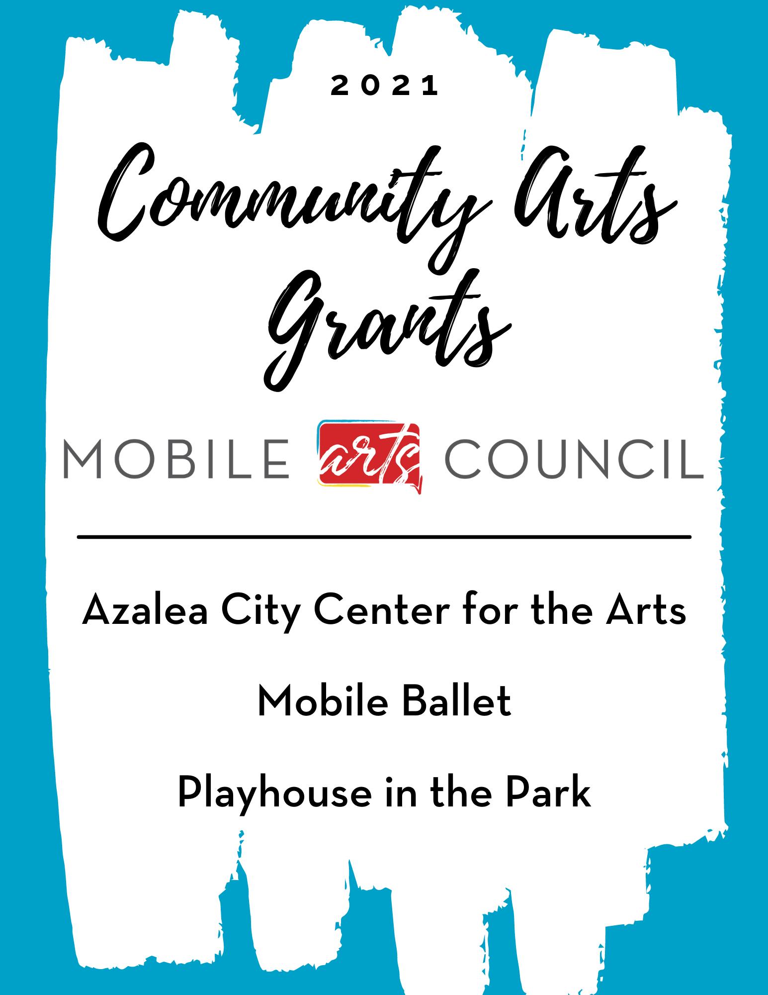 2020 -2021 Community Grants