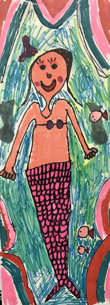 Under the Sea,  Mollie Williams, Marker
