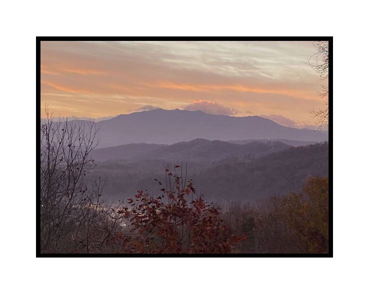Smoky Mountain Daybreak, Kenzie Matheny,  8th Grade,  Covenant Christian School, Photography, Photography