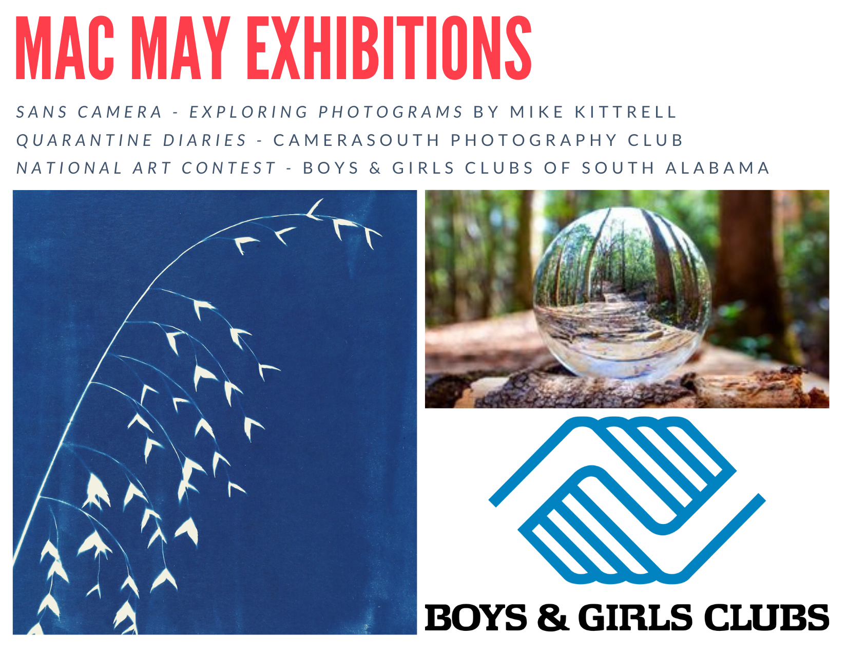 May Exhibition Graphic Update