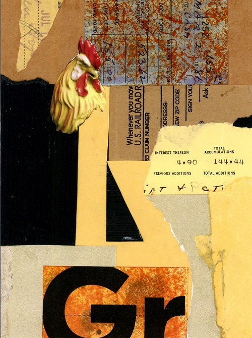 Homage to Schwitters #1, Barbara Spafford, NFS