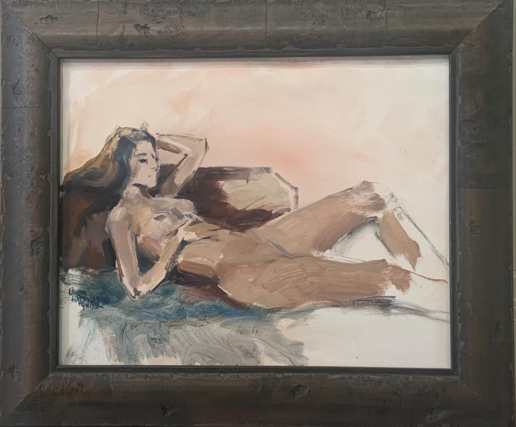 Sleepy Time Gal, Benita McNider, $375 ($325 unframed)