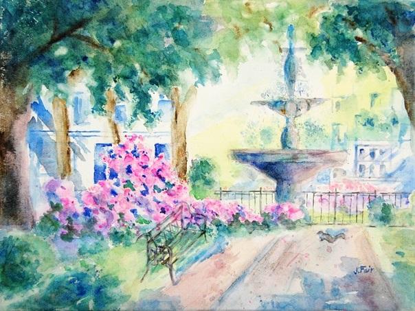 Buenville Square, Jerry Fair, $375