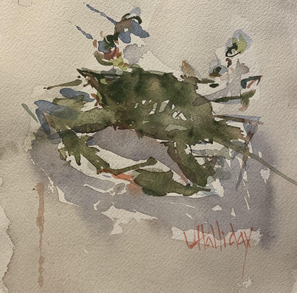 Don't Step on the Crab, John Halliday, $125