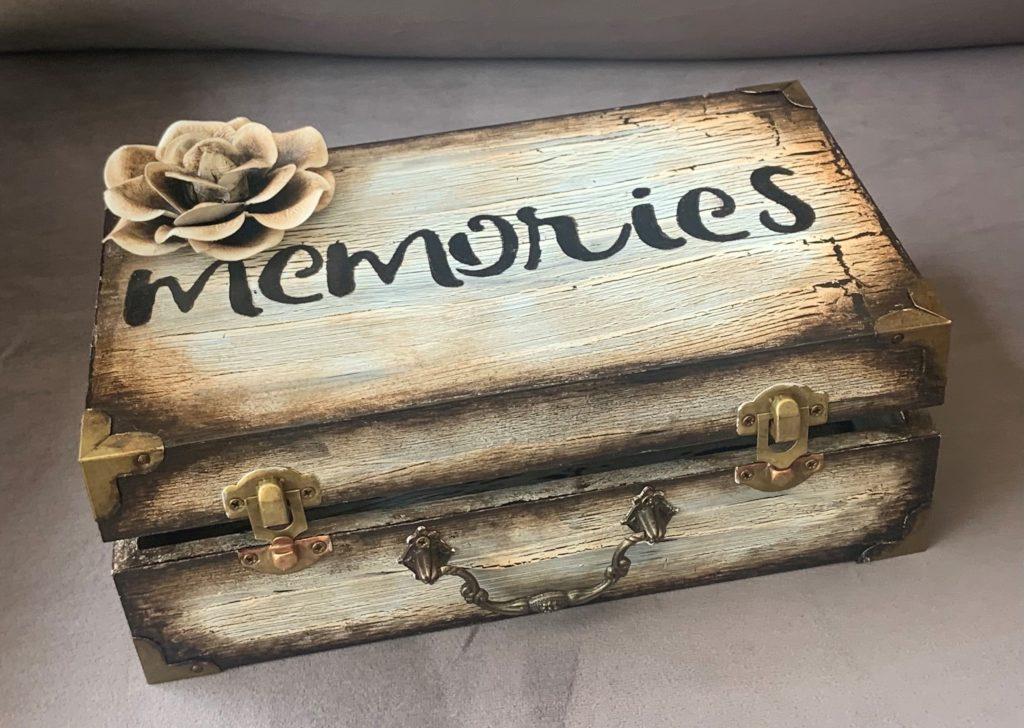 Memory Keepsake Hideaway Book, Margarett Sikes, $65