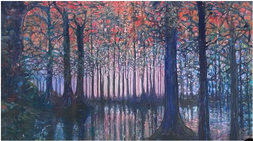 The Swamp, Pier Hardin, $1800