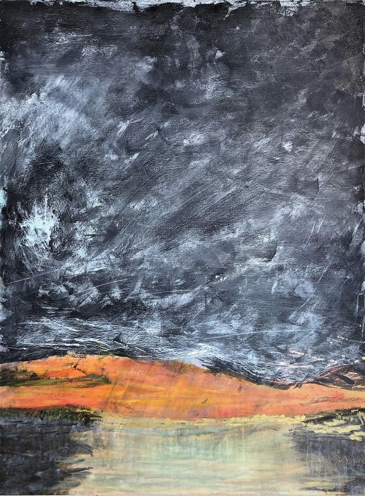 Sunset Over D'Olive Bay, Rebecca Kauffman, $1000
